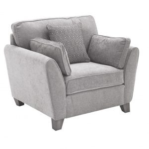 Cantrell 1 Seater - Silver