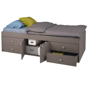 Captain's Single 3ft Cabin Bed Grey
