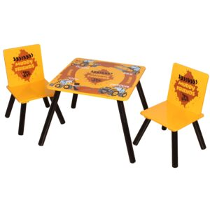 JCB Muddy Friends Table & Chairs