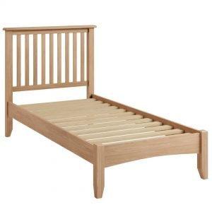Nunwick Oak Single Bed