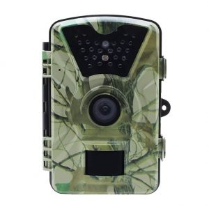 16GB SD Card Trail Game Camera TC03, 12MP 1080P Hunting Wildlife Camera with 24LEDs, Motion Sensor, Low Glow Infrared Night Vision 65ft, IP66, 2.36 LCD for Wildlife Monitoring, Surveillance