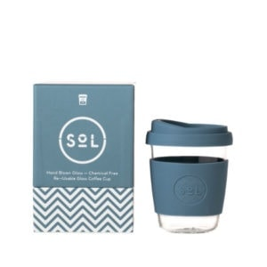 SoL Cup Glaskaffeebecher 12oz - Stone Blue