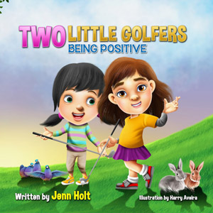 Two-Little-Golfers-Being-Positive