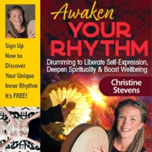 Vibrtional Sound Therapy with Drums: How to Boost Your Immune System & Ways to Reduce Stress: Drumming for Healing with Christine Stevens