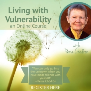 Lerarn How to Be Vulnerable an Online Course with Pema Chodron