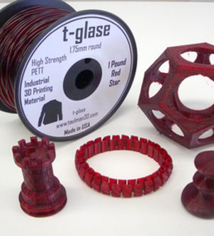 Taulman-T-Glase - Red - 2.85mm  *** 1lb spool ***