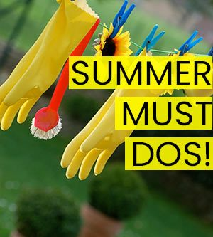 summer home maintenance must dos