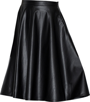 Leather Flare Skirt | fashion over 40 | style | fashion | 40plusstyle.com