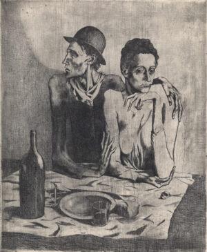 Pablo Picasso's Le Repas Frugal, 1904