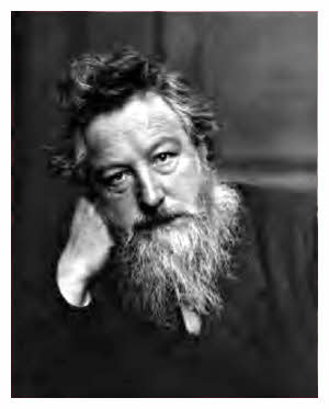 Picture: William Morris when he was 53 - wikipedia commons - acknowledgement below