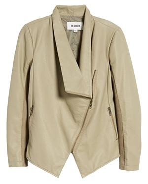 Leather Asymmetrical Jacket | fashion over 40 | style | fashion | 40plusstyle.com