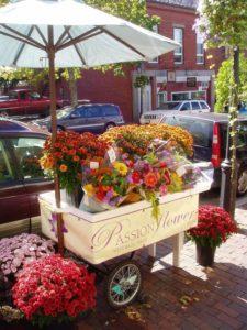 Market Umbrella with Flowers. Source: Pinterest