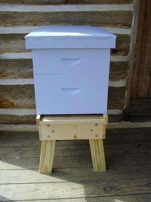 beehive stand plan 5