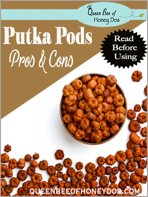 The Pros and Cons of Decorating With Putka Pods - what you need to know before you start using Putka pods in your DIY Fall decorations