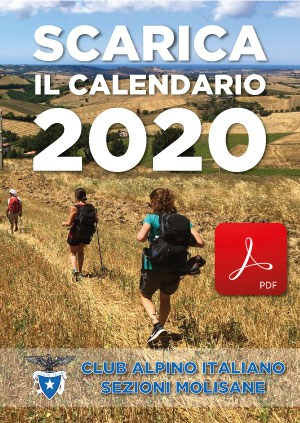 Download calendario 2020 cai Molise