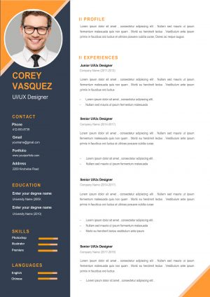 Creative Word Resume Template