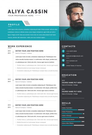 Detailed CV Word Format Template