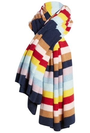 cashmere blanket scarf | 40plusstyle.com