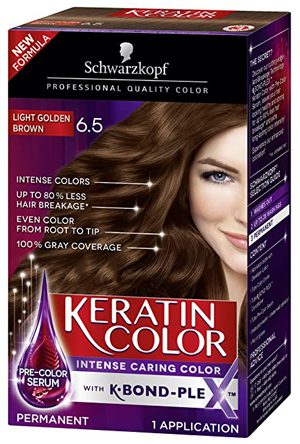 Schwarzkopf Keratin Color Anti-Age Hair Color Cream | 40plusstyle.com