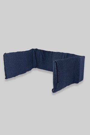 מגן ראש למיטת תינוק - נקודות כחול