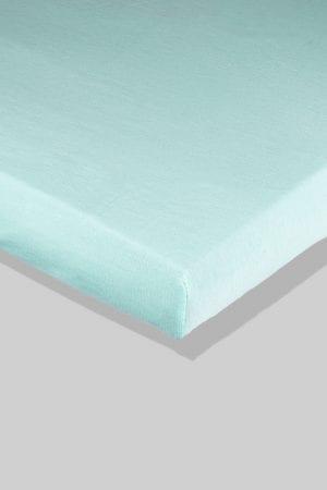 סדין ירוק - מיטת תינוק/מיטת מעבר | עריסה