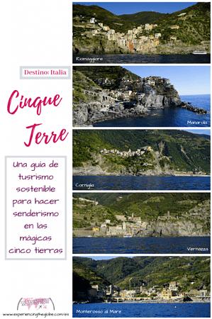 Visitar Cinque Terre puede ser un reto debido al sobreturismo, pero no dejes que eso te desanime. Aquí hay una guía con los mejores consejos sobre turismo sostenible, y sobre cómo explorar Cinque Terre, especialmente si quieres hacer senderismo – Experiencing the Globe #CinqueTerre #Italia #FotografiaDeViajes #ExperienciasDeViaje #Aventuras #Sobreturismo #Senderismo