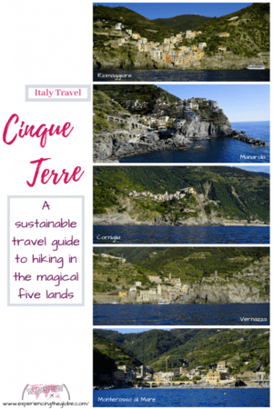 Visiting Cinque Terre can be challenging due to overtourism, but don't let that discourage you. Here's a guide with the best advice on sustainable travel, and on how to explore Cinque Terre, especially if you want to hike – Experiencing the Globe #CinqueTerre #Italy #TravelPhotography #TravelExperiences #BeautifulDestinations #Adventures #Hiking #SustainableTravel #Overtourism