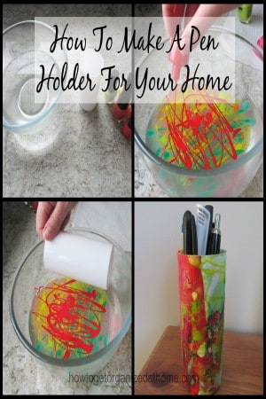 How To Make A Pen Holder For Your Home