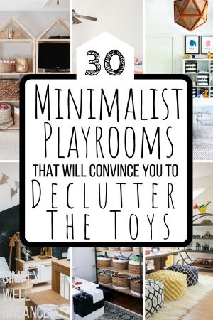 Minimalist Playroom Ideas