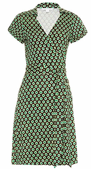 Classic DVF wrap dress | 40plusstyle.com