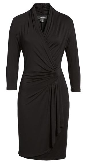 wrap dress | 40plusstyle.com