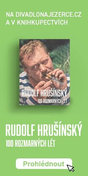 Kniha Rudolf Hrušínský 100 rozmarných lét