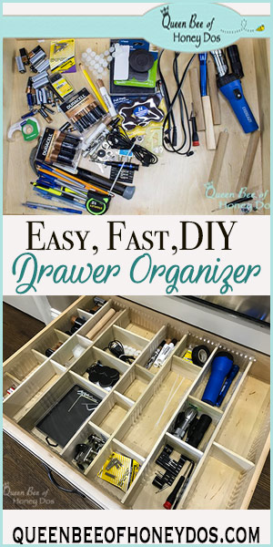Easy DIY Custom Drawer Dividers | Organizing How To