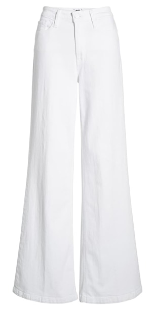 White leg jeans | 40plusstyle.com