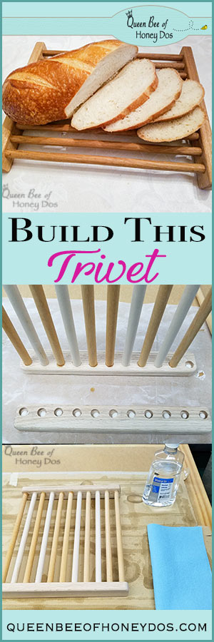 How To Build a Wooden Trivet