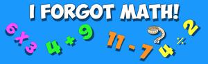 I forgot my math last summer- video