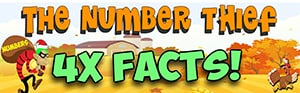 Number thief Thanksgiving 4 Facts