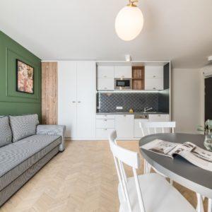 Apartament w Krakowie projektu Grid Studio