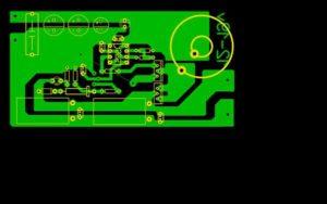 Схема автомобильного преобразователя напряжения-2