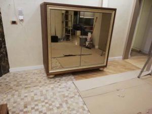 komoda sa ogledalom