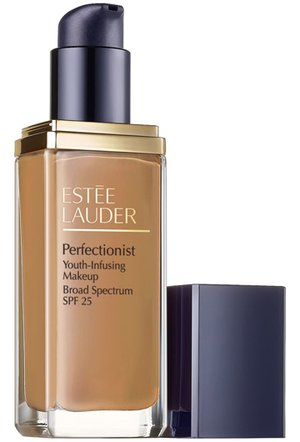 Best foundation for mature skin - Estée Lauder Perfectionist Youth-Infusing Makeup Broad Spectrum SPF 25 | 40plusstyle.com