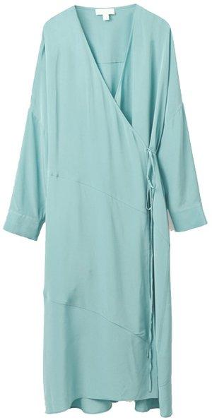 COS silk dress | 40plusstyle.com