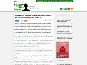 https://www.privateinternetaccess.com/blog/2016/04/supreme-court-wikipedia-violates-copyright-posting-photos-public-art/