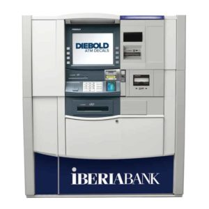 Diebold Opteva 750 ATM Front Panel Graphic Decal