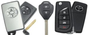 Ремонт автомобильных ключей Тойота