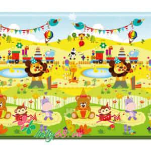 Thảm chơi Pamama 2 mặt Happy Birthday P0201