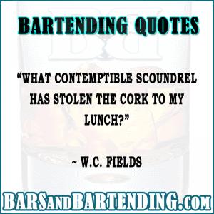 bar quotes stolen cork