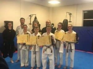 Black Belt Grading – Congratulations