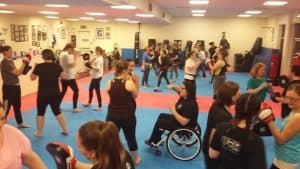 Ladies only Kickboxing, Kickboxing for women
