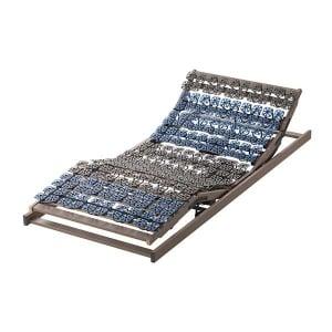 Der Lattenrost mit Tellerfedern 2 motorig und Elektrisch stufenlos und getrennt voneinander verstellbarem Rücken- und Fussteil.